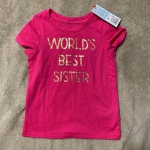 Cat & Jack Shirts & Tops - 18 month pink tee shirt